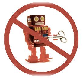 Servicios personalizados el futuro. No robot