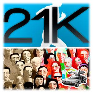 Tipos de personas y 21km