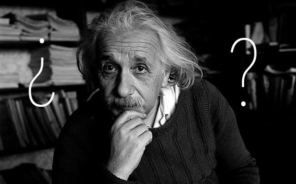 El problema de Einstein