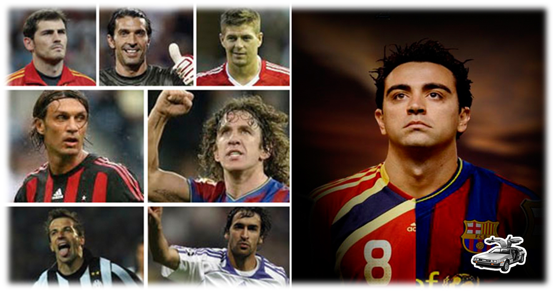 Xavi, lider y fiel como jugador