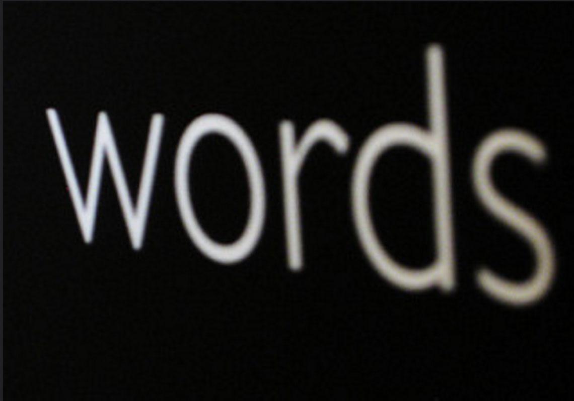 9 Palabras a tener en cuenta