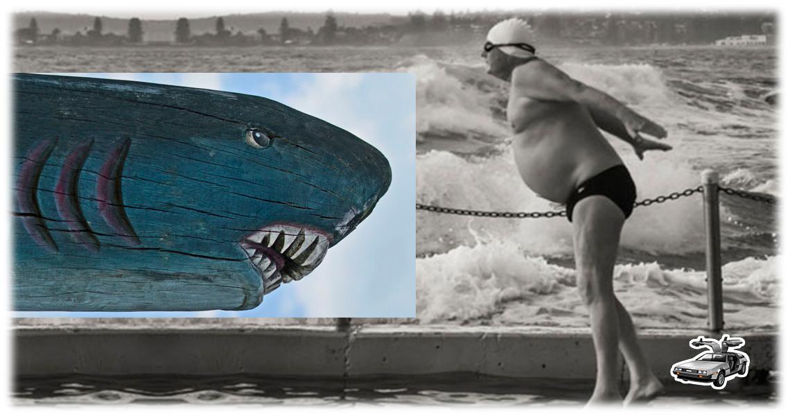 Aguas para bañarse sin tiburones