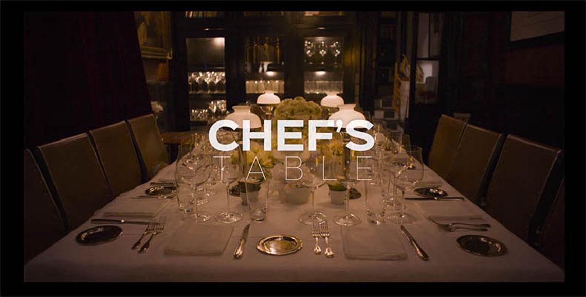 Chef's Table. Conoce la cocina