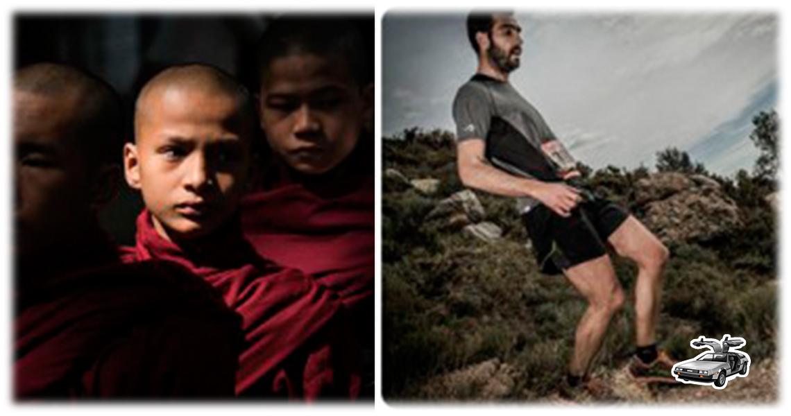 El monje, el hábito y el trail