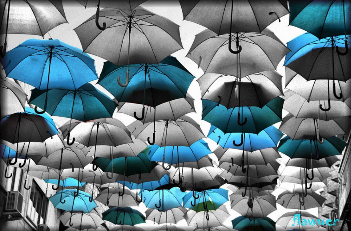 Paraguas de las 7 de la mañana