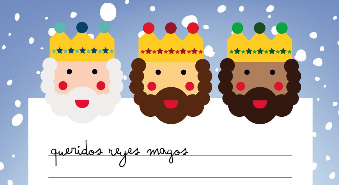 Carta a los Reyes Magos. Deseos 2018
