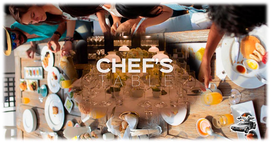 Alimentación y cocina en Chef's Table