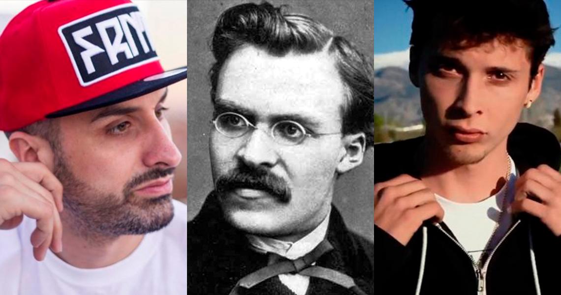 Tote King, Nietzsche y Ayax