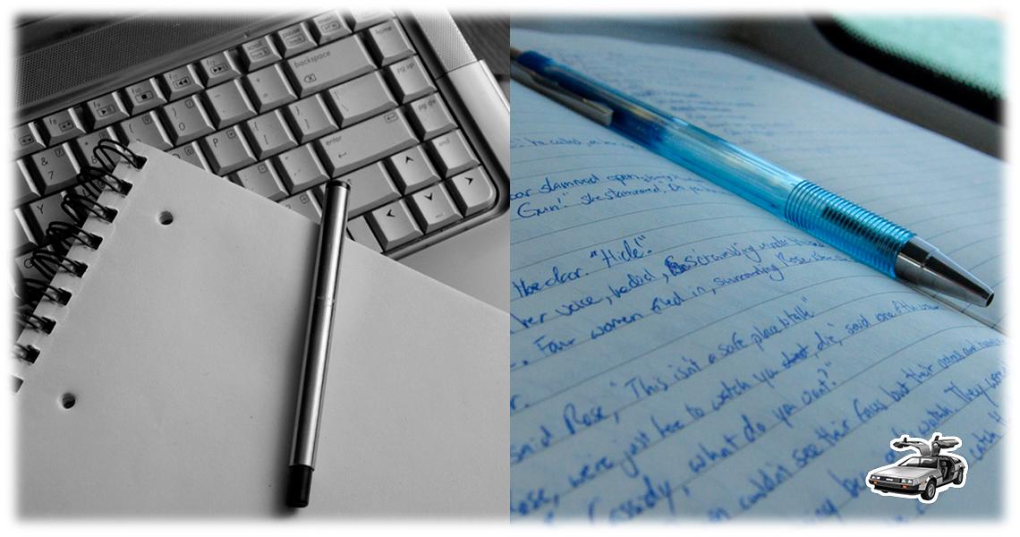 El antes de escribir