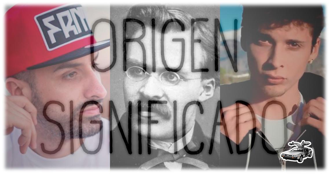 Tote King, Nietzsche y Ayax. Origen y significado