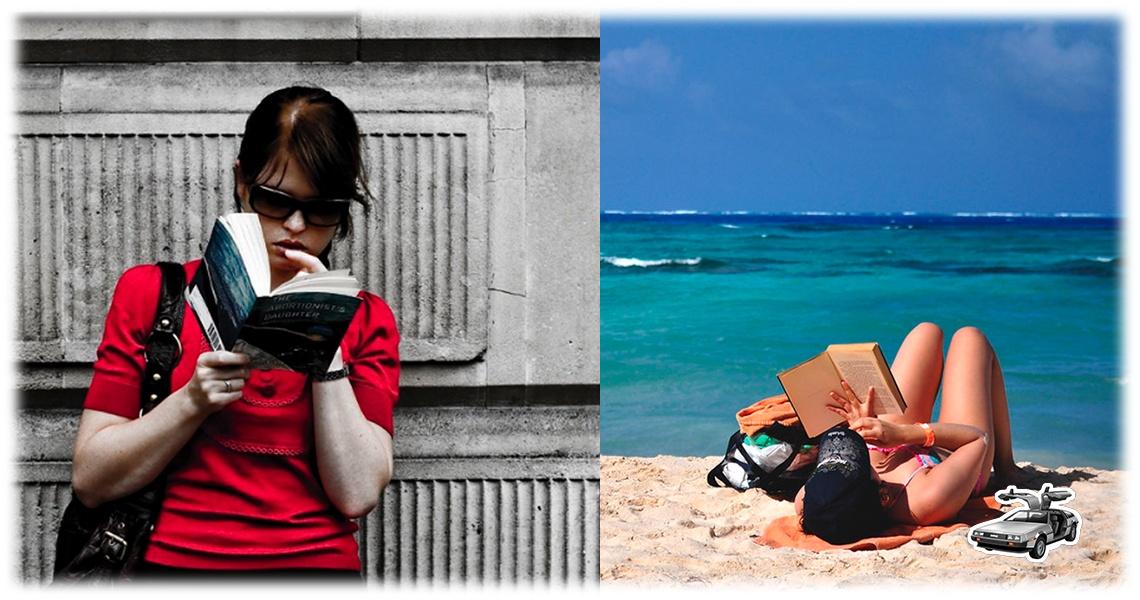 Deja la lectura en verano